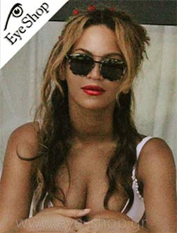 H Beyonce με γυαλιά ηλίου Etnia Barcelona Africa #eyeshopgrcelebrities