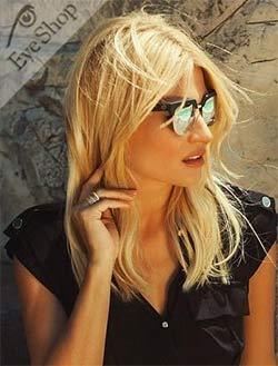 Φαίη Σκορδά με γυαλιά ηλίου Charlie Max BROLETTO