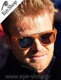 Ο Nico Rosberg με γυαλιά Italia Independent