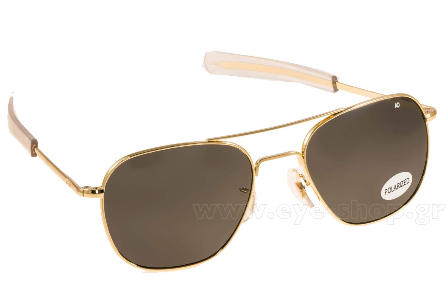 Γυαλιά American Optical ORIGINAL PILOT Gold Grey Crystal Polarized U.S.A.