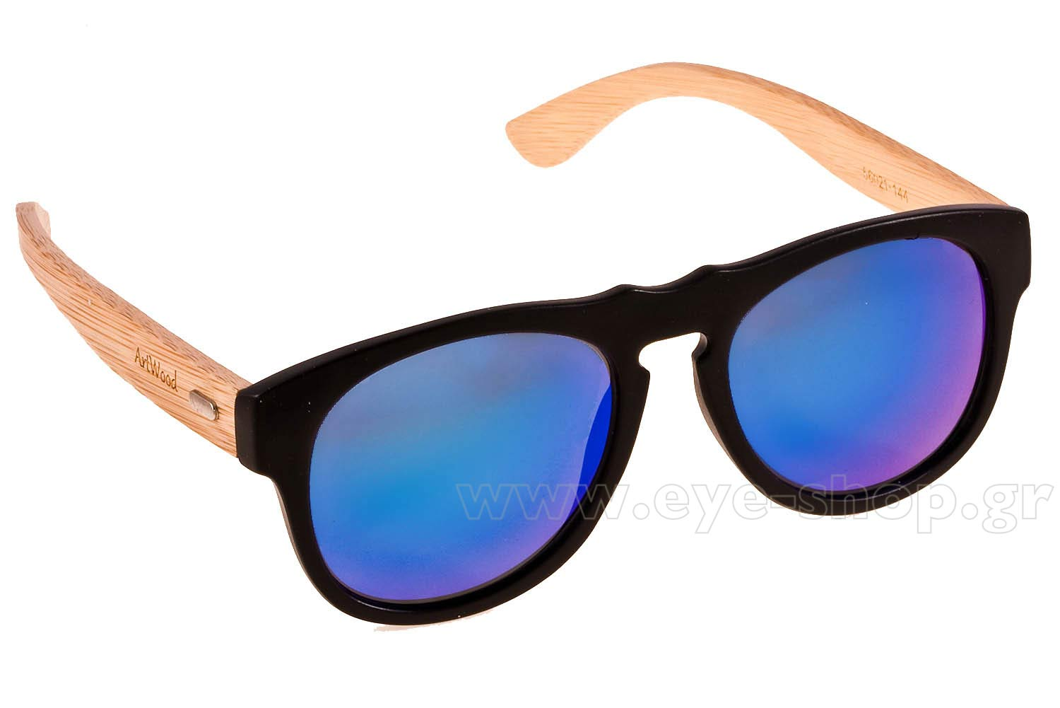 Γυαλιά Artwood Milano Steve 60 MtBlack BlueMirror Polarized Cat3