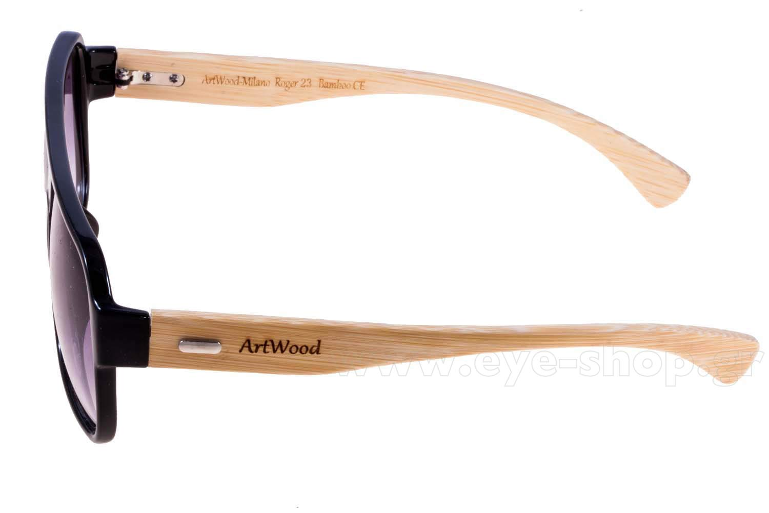 Artwood Milano μοντέλο Roger 23 στο χρώμα Black Grey gradient