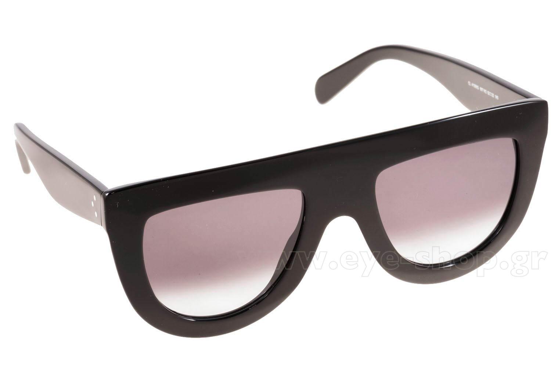 ΓυαλιάCelineCL 41398S807  (W2)BLACK (DK GREY DEGRADE)