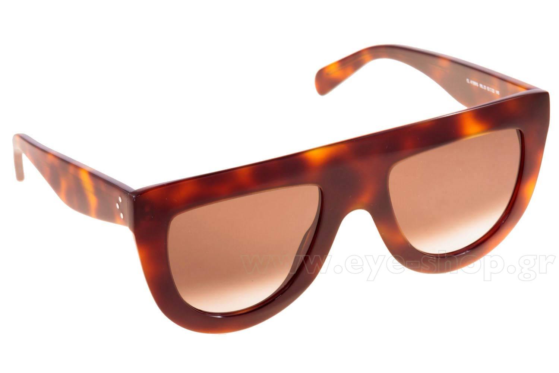 ΓυαλιάCelineCL 41398S05L  (Z3)HAVANA (BROWN DEGRADE')