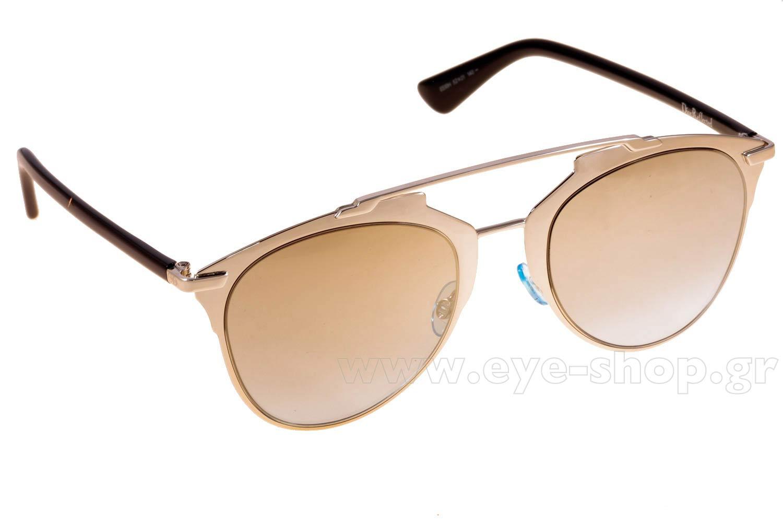 ΓυαλιάChristian DiorDIORREFLECTEDEEI  (0H)LTGD BLK (GOLD SF AZURE)