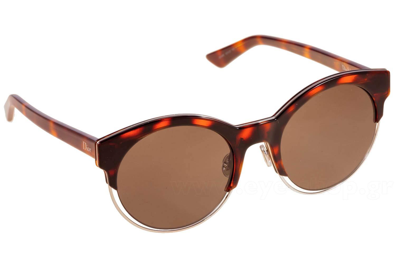 ΓυαλιάChristian DiorDIORSIDERAL1J6ANR browntort Silver