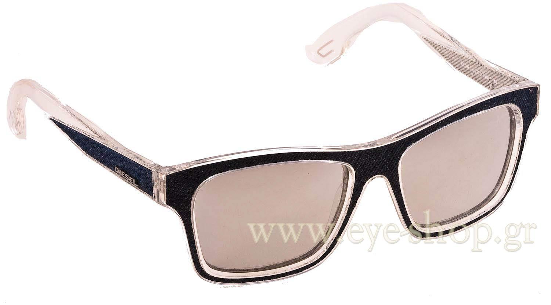 ΓυαλιάDieselDL0071S27C Blue Jean Transparent