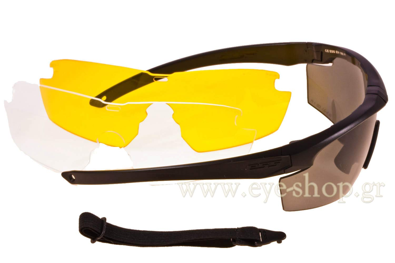 ESSμοντέλοESS Crosshair 3LSστοχρώμαEE9014-05 Με ακόμη 2 ανταλλακτικές μάσκες (κίτρινο και διάφανο)