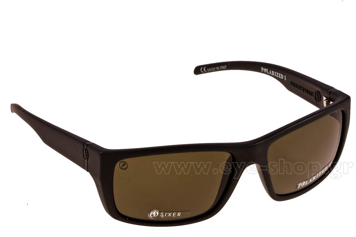 Γυαλιά Electric SIXER Mat Blk Melanin Polarized I grey