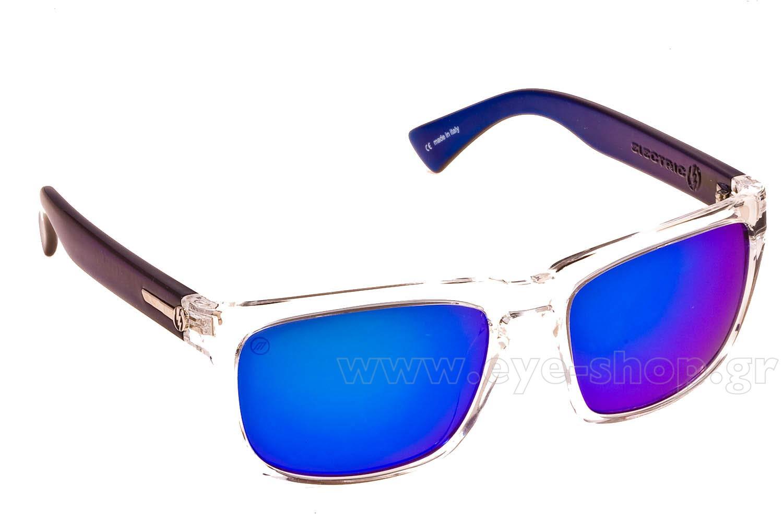 ΓυαλιάElectricKNOXVILLECRY Blk Melanin Blue Mirror