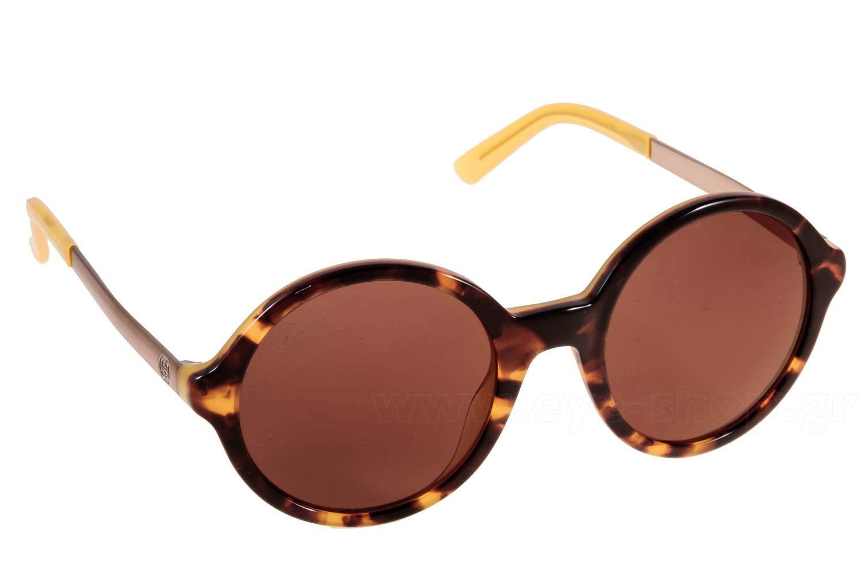 ΓυαλιάGucci3770sGYG LC HVYLLW BW (BROWN GOLD AR)