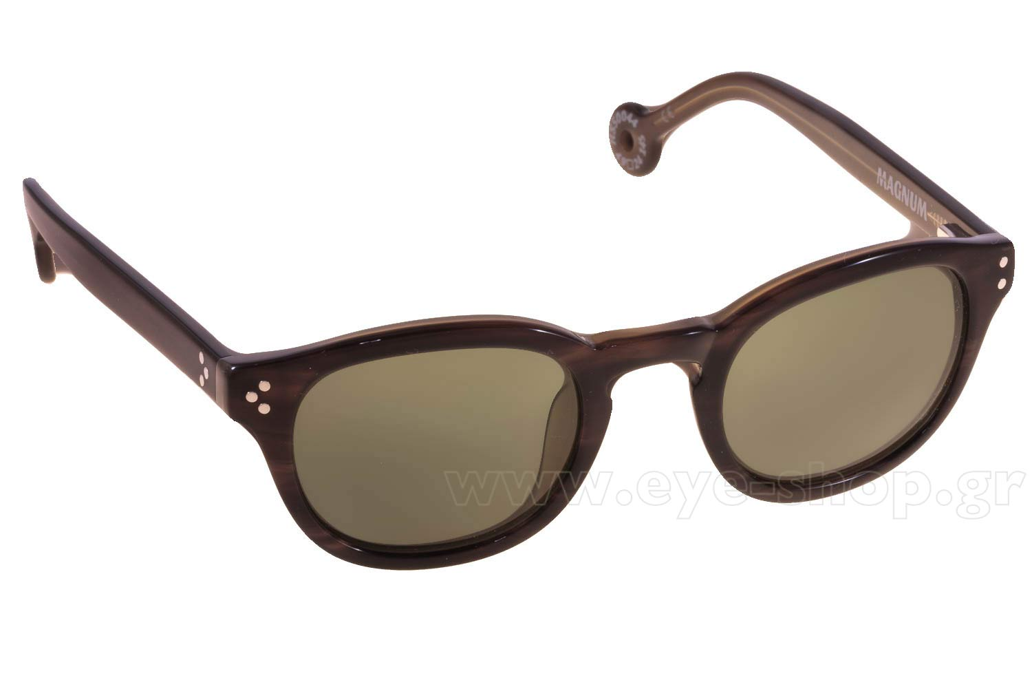 Γυαλιά Hally and Son HS500 44 Brown Olive Magnum