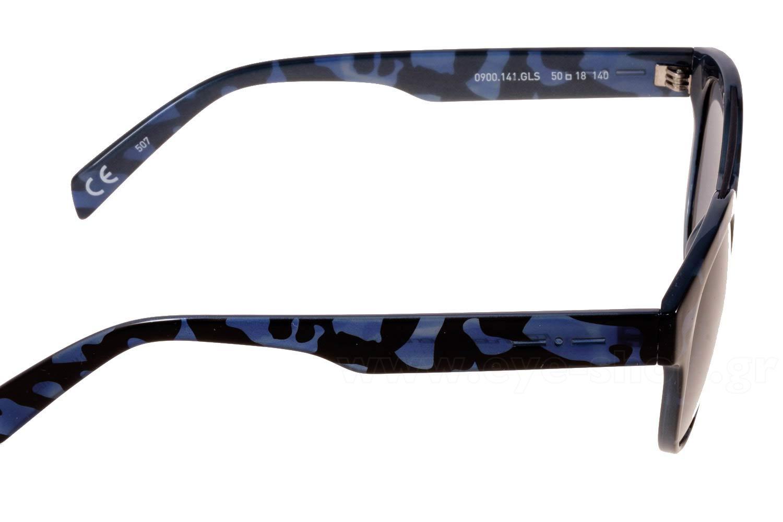Italia IndependentμοντέλοI-PLASTIK 0900στοχρώμα141.GLS CAMO BLUE