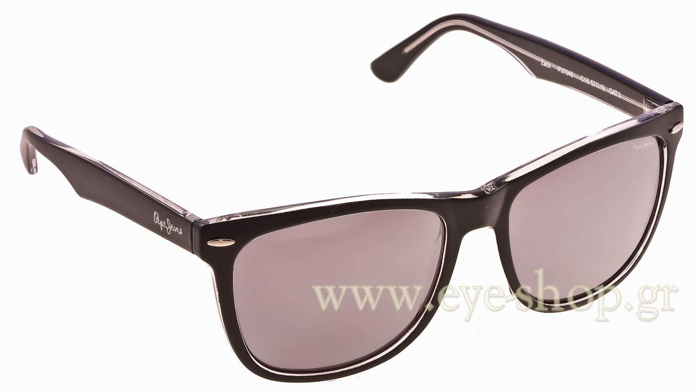 ΓυαλιάPepe JeansZack PJ7049c16 Matte Black Crystal