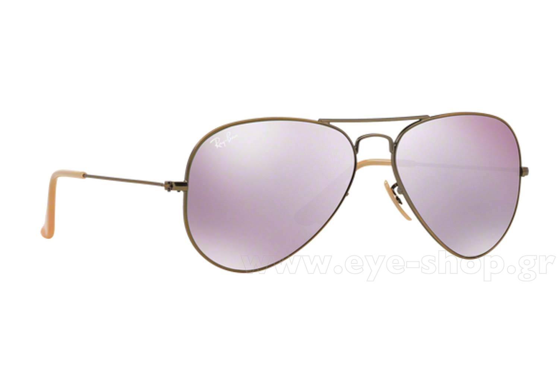 ΓυαλιάRayBan3025 Aviator1674K Lilac Mirror