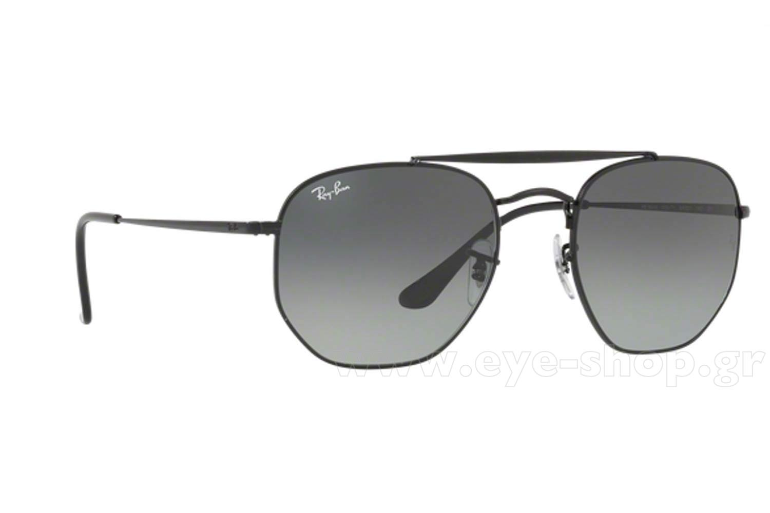 Γυαλιά Rayban 3648 THE MARSHAL 002/71 Hexagonal Double Bridge