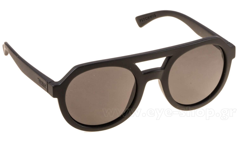 ΓυαλιάVon ZipperPSYCHWIGBKS Black Satin Grey