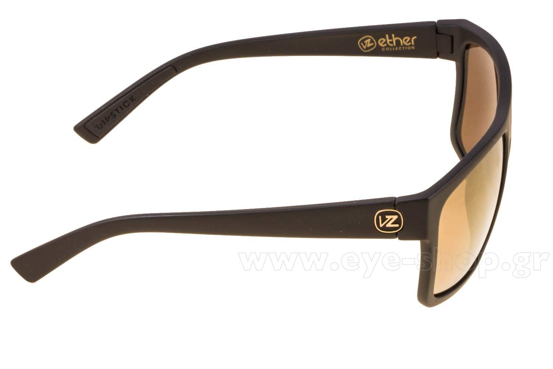 Von ZipperμοντέλοDIPSTICKστοχρώμαSMSF7DIP-BKD Black Satin Gloss Duo Gold mirror