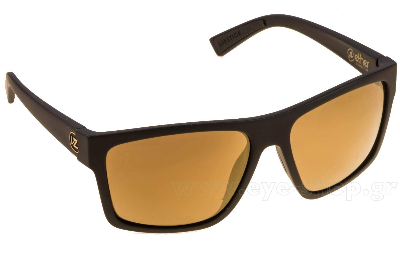 ΓυαλιάVon ZipperDIPSTICKSMSF7DIP-BKD Black Satin Gloss Duo Gold mirror